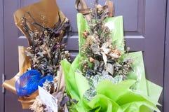 Ramo compuesto de flores marchitadas Fotos de archivo