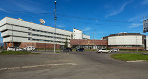 Ramo da Federação Russa do banco central do território de Kamchatka Imagens de Stock