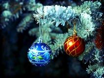 Ramo de árvore do Natal Imagem de Stock Royalty Free
