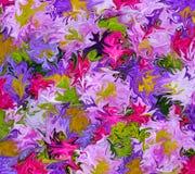 Ramo de colores Foto de archivo