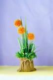 Ramo de flor artificial y de plantas fotografía de archivo libre de regalías