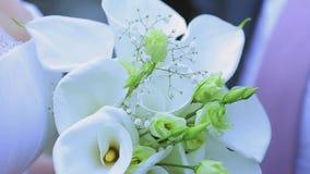 Ramo de flores almacen de metraje de vídeo