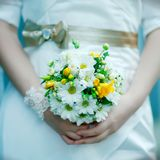 Ramo de flores de la boda Imagenes de archivo