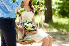 Ramo de flores de la boda foto de archivo libre de regalías