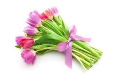 Ramo de flores de los tulipanes de la primavera Imagenes de archivo