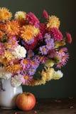 Ramo de flores del otoño Foto de archivo