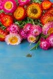 Ramo de flores eternas fotos de archivo
