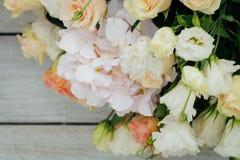 Ramo de flores frescas Foto de archivo