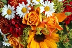 Ramo de flores frescas del verano Imagen de archivo libre de regalías