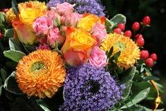 Ramo de flores frescas del verano Imagenes de archivo
