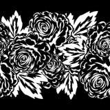 Ramo de flores monocromáticas Imagen de archivo libre de regalías