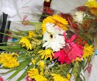 Ramo de flores para la acción de gracias Foto de archivo