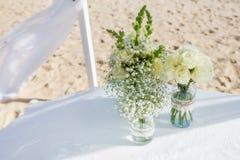 Ramo de flores para la ceremonia de boda Fotografía de archivo