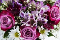 Ramo de flores rosadas Imagenes de archivo