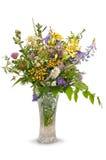 Ramo de flores salvajes aisladas Fotos de archivo