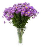 Ramo de flores salvajes en un florero Imagenes de archivo