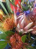 Ramo de flores tropicales Fotografía de archivo