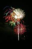 Ramo de fuegos artificiales Fotografía de archivo