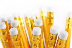 Ramo de lápices upside-down Imagen de archivo libre de regalías