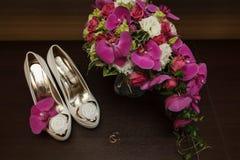 Ramo de la boda Foto de archivo