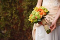 Ramo de la boda Fotografía de archivo