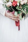Ramo de la boda de flores Fotografía de archivo libre de regalías