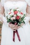 Ramo de la boda de flores Imagen de archivo libre de regalías