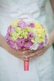 Ramo de la boda de la novia Fotos de archivo libres de regalías