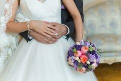 Ramo de la boda de la novia Fotografía de archivo libre de regalías