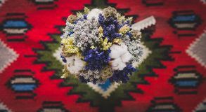 Ramo de la flor de la boda Foto de archivo
