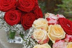 Ramo de la flor de la boda imagen de archivo libre de regalías