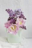 Ramo de la flor de la primavera fotos de archivo libres de regalías
