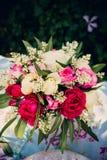 Ramo de la flor de rosas Imágenes de archivo libres de regalías
