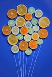 Ramo de la fruta fresca Foto de archivo libre de regalías