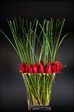 Ramo de la tarjeta del día de San Valentín Fotos de archivo libres de regalías