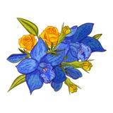 Ramo de las flores 2 Imagen de archivo libre de regalías