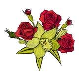 Ramo de las flores 2 Fotografía de archivo