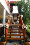 Ramo de las flores artificiales para la ceremonia de boda Imágenes de archivo libres de regalías
