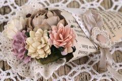 Ramo de las flores de papel Fotos de archivo libres de regalías