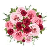 Ramo de las rosas. Foto de archivo