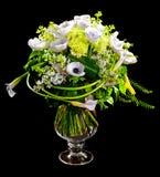 Ramo de lilias y de rosas de la cala Foto de archivo libre de regalías
