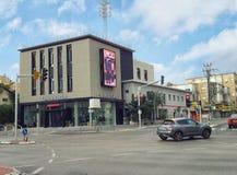 Ramo de lojas Castro da forma da rede Imagem de Stock