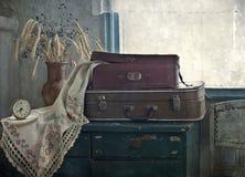 Ramo de oídos y de maletas Foto de archivo