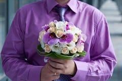 Ramo de orquídeas Fotografía de archivo libre de regalías