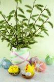 Ramo de Pascua Imagen de archivo libre de regalías