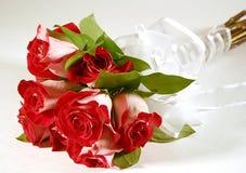 Ramo de rosas Imágenes de archivo libres de regalías