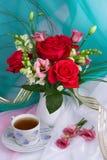 Ramo de rosas Fotografía de archivo