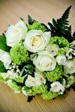 Ramo de rosas de la boda Fotografía de archivo