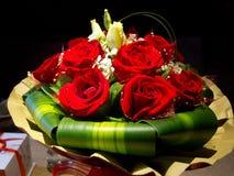 Ramo de rosas rojas Imagen de archivo libre de regalías