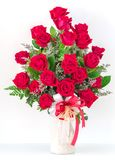 Ramo de rosas rojas Fotografía de archivo libre de regalías